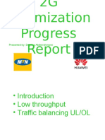 2G Optimization Progress Report 06-22-15