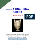 JOHN KEATS - Oda a Una Urna Griega