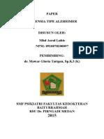 Cover Psikiatri Demensia Tipe Alzheimer 2015