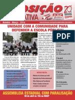 Boletim Março Oposição Alternativa - APEOESP