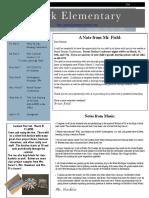 thurs march 3 2016 newsletter