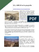 QUEBRADAS y ABRAS en La Geografía de Jujuy - Verónica Mendoza