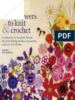 100 Flori Tricotate Si Crosetate