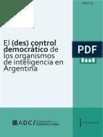 El (des) control democratico de los organismos de inteligencia en Argentina