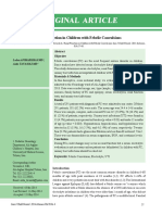 Renal Function in Children With Febrile Convulsions