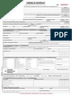 Formato de Informe de Enfermedad Laboral