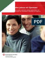 Si mund të punoni në Gjermani