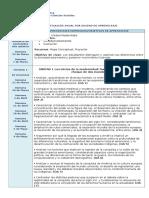 Planificación Anual 8° básico Historia y Ciencias Sociales 2016