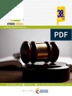 Boletin Opinion Juridica 38 Febrero 2016