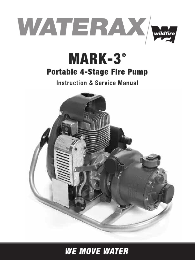 mark 3 service manual carburetor gasoline rh scribd com Mark 3 Pump Kit Wajax Mark 3 Pump Parts