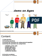 Ages and Numbers