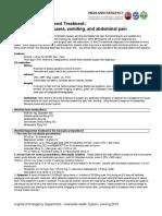 Herring ED intractable abdominal pain;N+V