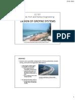 CE707 Groyne Design