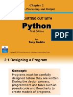 Starting out with Python - Chapter 2 PPT