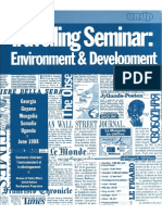 UNDP Travelling Seminar