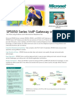 SP5050 Series Catalog