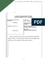 SEC v. Jammin Java Corp. Et Al Doc 24 Filed 02 Mar 16