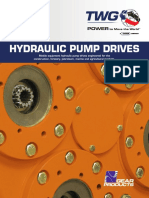 Hydraulic Pump Drives Catalog