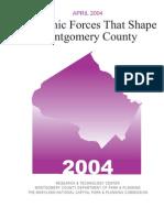 Economic Forces that Shape Montgomery County (April, 2004)