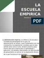 La Escuela Empirica