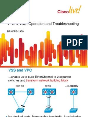 VSS VS VPC pdf   Network Switch   Router (Computing)
