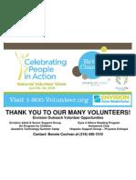 Volunteer Flier