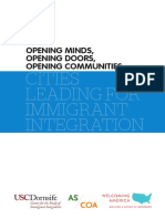 Opening Minds, Opening Doors, Opening Communities