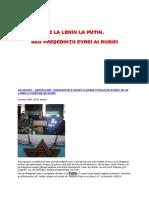 De La Lenin La Putin Sau Presedintii Evrei Ai Rusiei