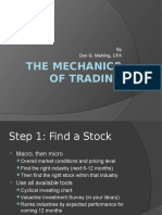 the mechanics of trading