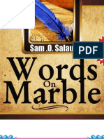 Words on Marble 1