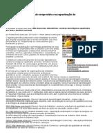 Sistema S é Forte Aliado Do Empresário Na Capacitação de Trabalhadores — Portal Brasil