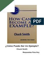 Como Puedo Ser Un Ejemplo - Chuck Smith