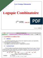 Logique Combinatoire Unité ATC 1STE Bouchaib MAHBAB