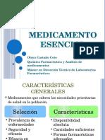 MEDICAMENTO ESENCIAL