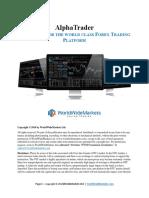 AlphaTrader User Manual