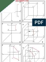 Représentation Graphique Notion de Géométrie Descriptive