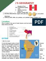 PERU Geograpy