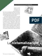 La Nixtamalizacion y El Valor Nutritivo Del Maiz