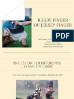 Rugby Finger CREPS Guadeloupe