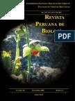 REVISTA PERUANA DE BIOLOGÍA v16n2