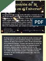 Tema 3 La Posicion de La Tierra en El Universo