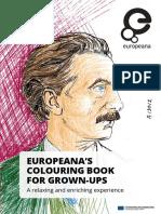 European Colouring Book