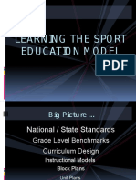 sport education model  se