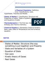 Notes on States of Matter