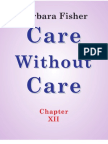 Care Without Care (Chapter XII)
