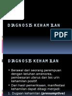 Prinsip Diagnosis Kehamilan