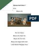 Ujian Bahasa Iban Tahun 1
