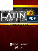 13th Annual Illinois Latino Law Forum