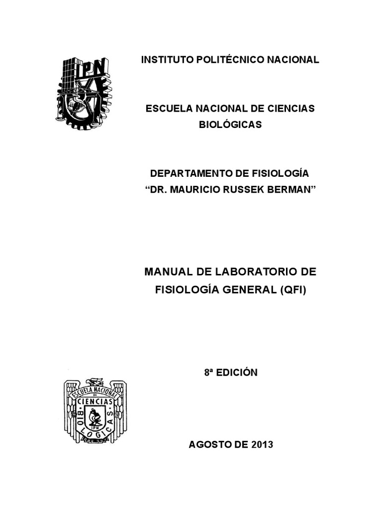 Manual Fisiologia General Qfi 2013-Rev