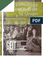 La Huelga en El Club de La Unión - GEIT